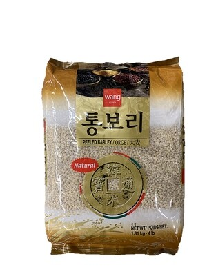 Wang Peeled Barley (4 LBS)