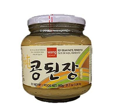 Wang Soy Bean Paste, Fermented (1.98 LB)