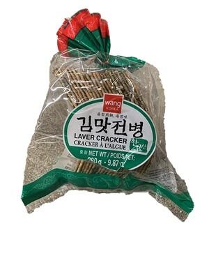 Wang Korean Laver Cracker (9.87 Oz)
