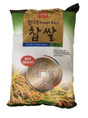 Wang Hanmi Sweet Rice (15 LBS)