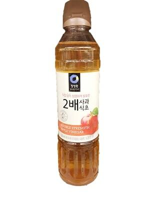 ChungJungOne Duble Strength Apple Vinegar (16.9 Fl. Oz)