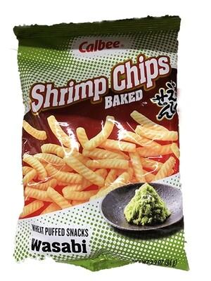 Calbee Shrimp Chips Wasabi (3.3 Oz)