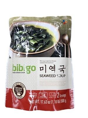 CJ Bibigo Seaweed Soup 2 Servings (17.63 Oz)