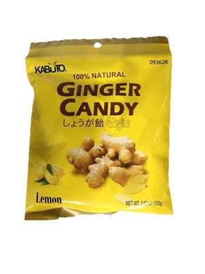 KABUTO Ginger Candy Lemon (3.53 OZ)