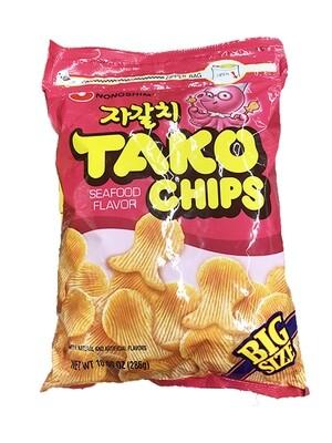 Nongshim Tako Chips Big Size (10.09 Oz)