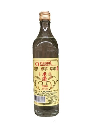 Oriental Mascot Chinese Cooking Wine Michiu Salt Added (20 Oz)