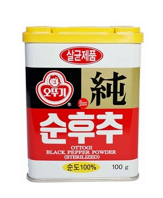 Ottogi Black Pepper Powder (3.53 Oz)