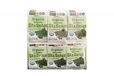 OrgaLand Organic Seasoned Sea Snack 12 Packs (0.17 Oz * 12)