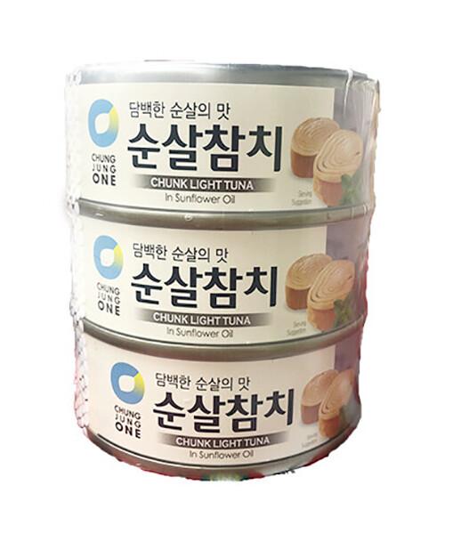 ChungJungOne Chunk Light Tuna (4.7 Oz * 3)