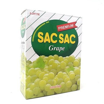 Lotte Sac Sac Grape 12 Cans (8.05 Fl. Oz * 12)