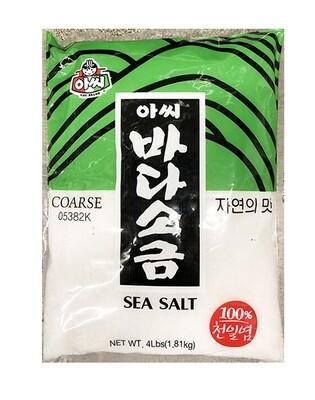 Assi Sea Salt Coarse (4LB)