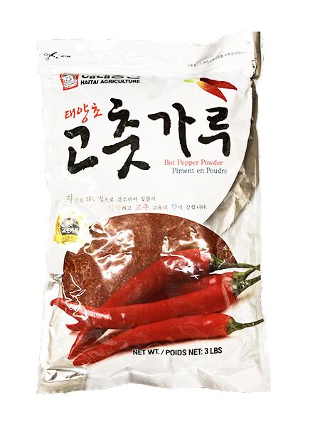 Haetae Korean Hot Pepper Coarse (3 LB)