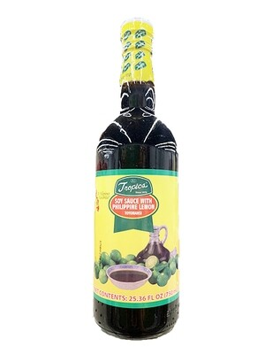 Tropics Soy Sauce with Philippine Lemon Toyomansi (25.36 Fl. Oz)