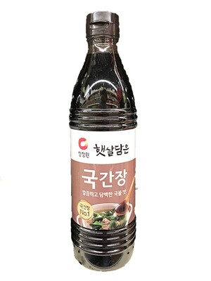 ChungJungOne Soy Sauce for Soup (28.4 Fl. Oz)