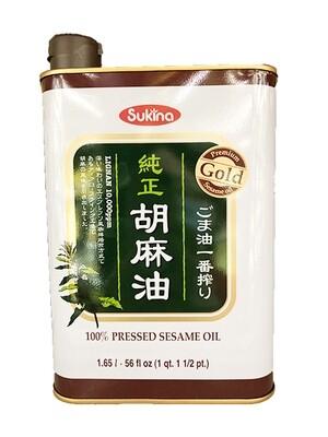 Sukina 100% Pressed Sesame Oil (56 Fl. Oz)
