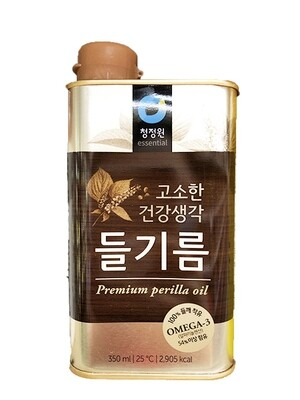 ChungJungOne Premium Perilla Oil (11.83 Fl.Oz)