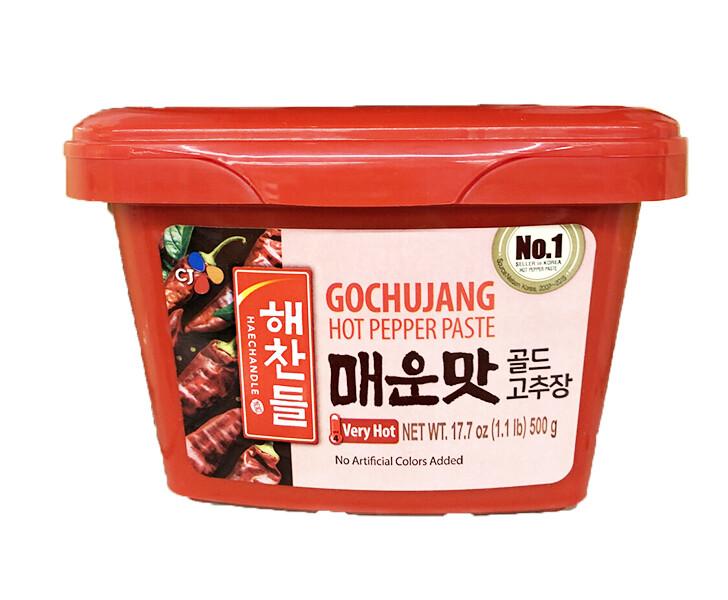 CJ Gochujang Hot Pepper Paste Very Hot (1.1 LBS)