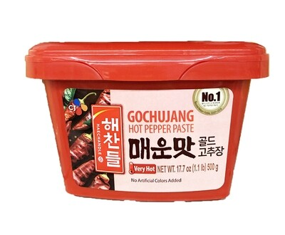 CJ Gochujang Hot Pepper Paste Very Hot (1.1 LBS)