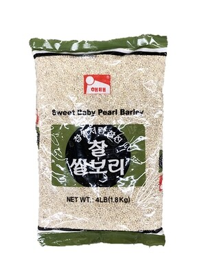 HaeTae Sweet Baby Pearl Barley (4 LBS)