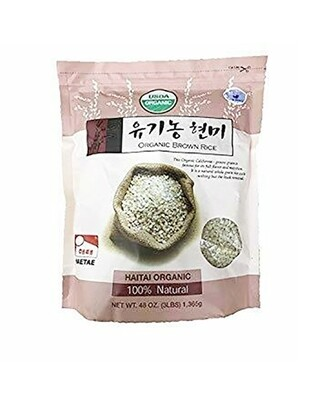 HaeTae USDA Organic Brown Rice (3 LBS)