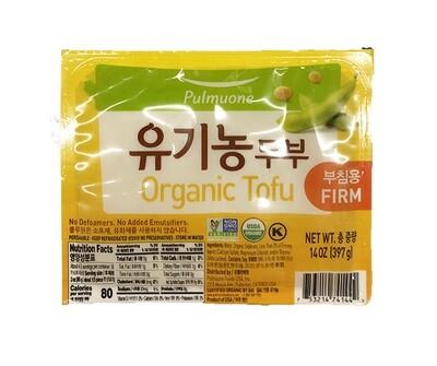 Pulmuone Organic Firm Tofu (14 Oz)