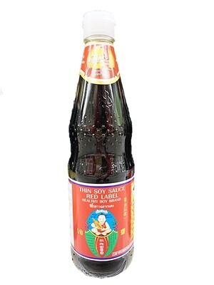 Healthy Boy Thin Soy Sauce Red Label (23.5 Fl. Oz)