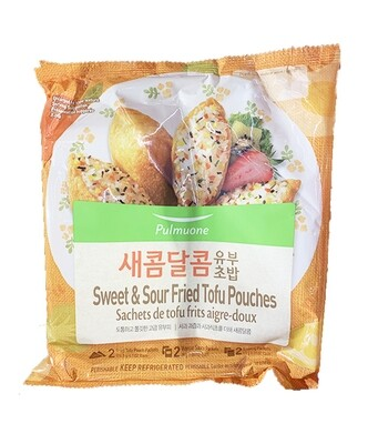 Pulmuone Fried Tofu Pouches Sweet & Sour (11.4 Oz)