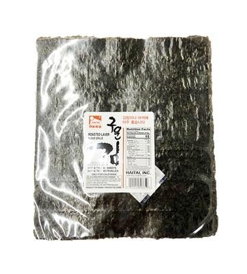 Haetae Roasted Laver 40 Sheets (40 Sheets)