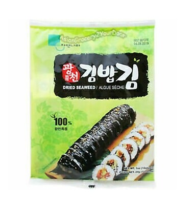 Jayone Dried Seaweed 10 Sheets (1 Oz)
