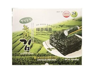Haetae Roasted Green Tea Seaweed Gift Set (3.38 Oz)
