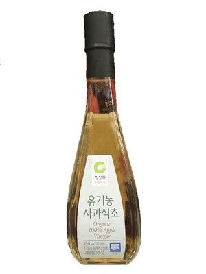 ChungJungOne Organic 100% Apple Vinegar (11.8 Fl. Oz)