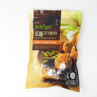 CJ Bibigo Korean Inspired Mini Patty Pork & Vegetable (16 Oz)