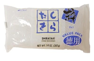 JFC White Shirataki Yam Noodles Value Pack (14 Oz)