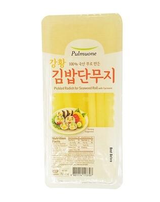Pulmuone Pickled Radish for Seaweed Roll (11.6 Oz)