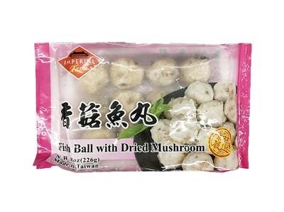 Imperial Taste Fish Ball with Dried Mushroom (8 Oz)