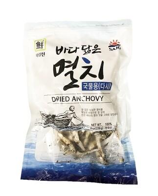 Jayone Dried Anchovy (Dashi) (8 Oz)