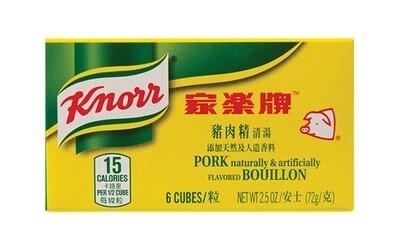 Knorr Pork Bouillon Cubes (2.5 Oz)