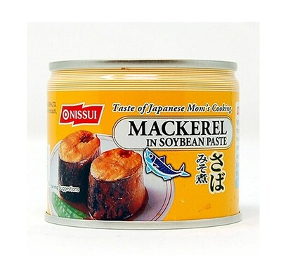 Nissui Canned Mackerel in Soybean Paste (6.7 Oz)