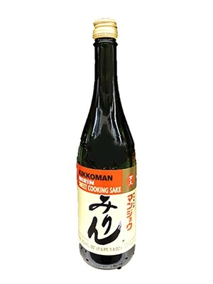 Kikkoman Mirin Sweet Cooking Sake (25.4 Fl. Oz)