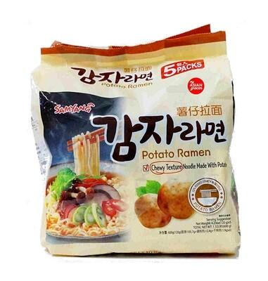Samyang Potato Ramen 5 Packs (4.23 Oz * 5)