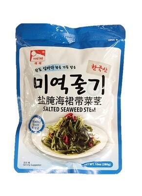 HaeTae Salted Seaweed Stem (10 Oz)