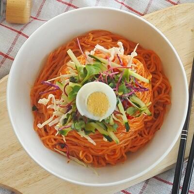 Spicy Jjol Myun Noodles