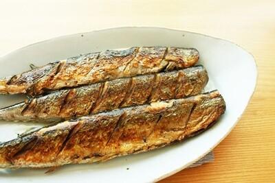 Fried Small Mackerel 3Pcs