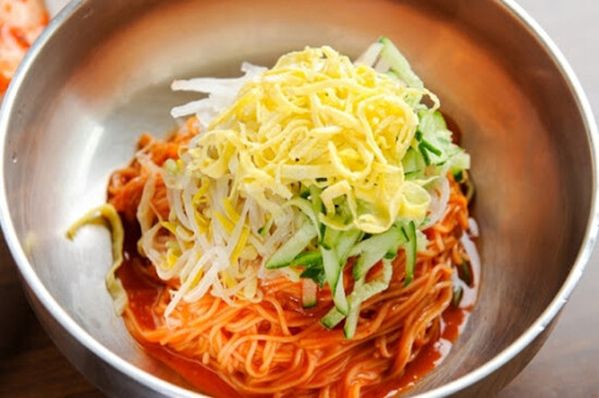 Spicy Red Pepper Paste Mixed Noodles