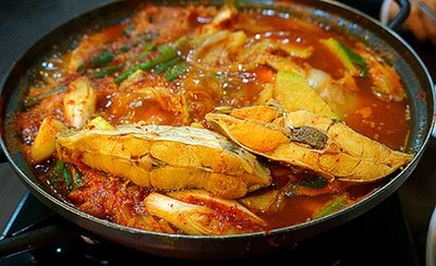 Spicy Marinated Flounder