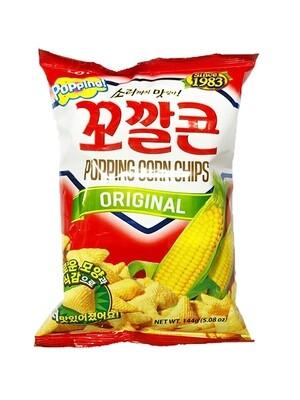 Lotte Corn Snack Original (5.08 Oz)