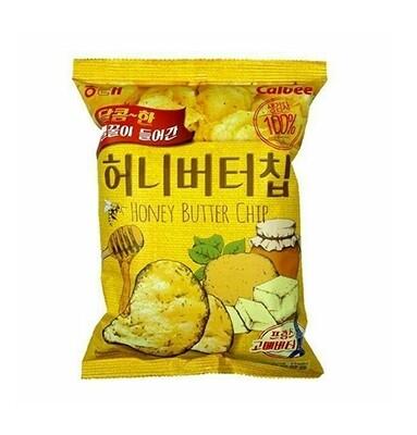 Haetae Honey Butter Seasoned Potato Chips (2.1 Oz)