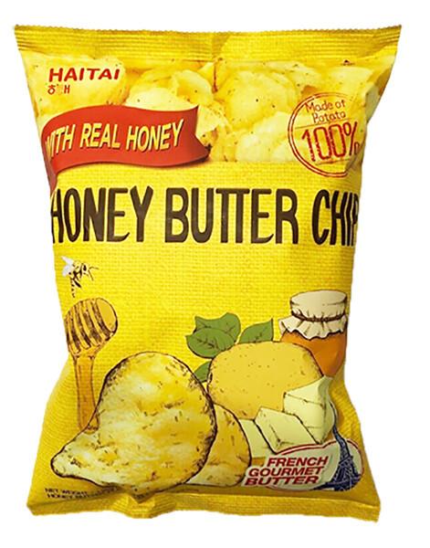 Haetae Honey Butter Seasoned Potato Chips (4.23 Oz)