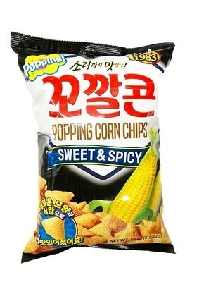 Lotte Corn Snack Sweet & Spicy (5.08 Oz)