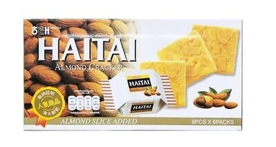 Haitai Haitai Almond Cracker (0.77 oz * 6 pcks)